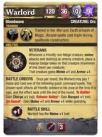 Warlord Abilities