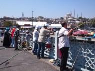 Fishermen on Galata Bridge