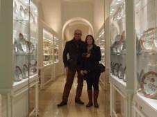 Us with Hapsburg porcelain