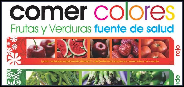 Comer Colores Frutas Y Verduras