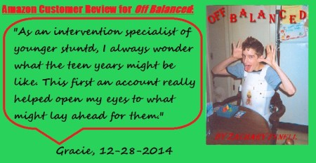 Off Balanced is available on the Kindle and Nook.