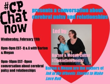 CPChatNow presents a conversation on cerebral palsy and relationships
