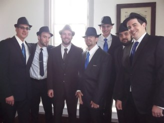 Mike and his groomsmen
