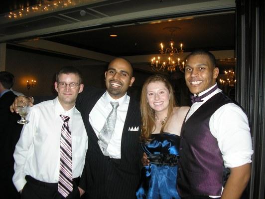 At Rob's Wedding 1-1-11