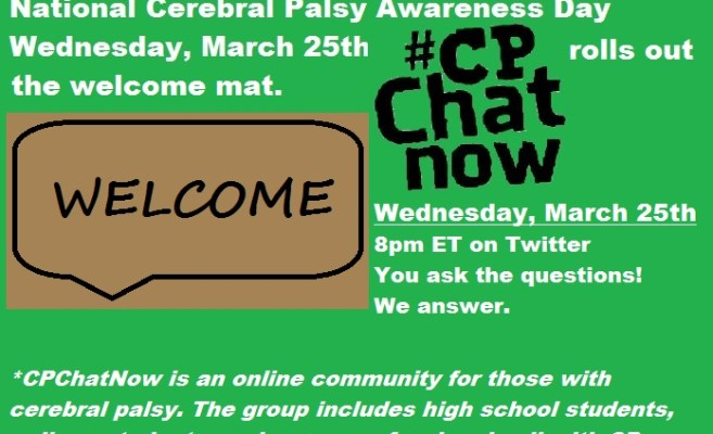 Cerebral Palsy Day Twitter Chat