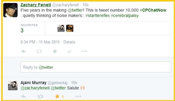 I hit the 10,000-tweet milestone