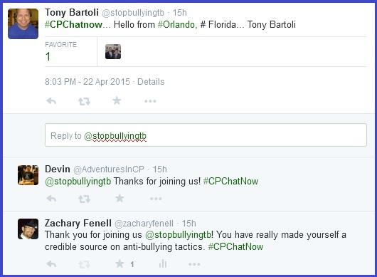 #CPChatNow welcomes Tony Bartoli