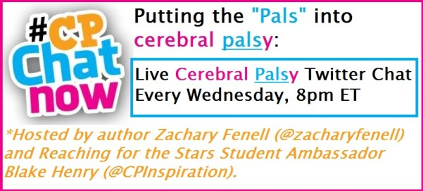 "#CPChatNow puts the ""pals"" in ""cerebral palsy."""