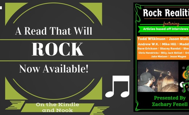 Rock Realities features interviews with musicians like Andrew WK, Team Sleep's Todd Wilkinson, and 11 more artists!