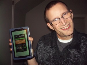Author Zachary Fenell and his book Rock Realities (Available on the Kindle & Nook).