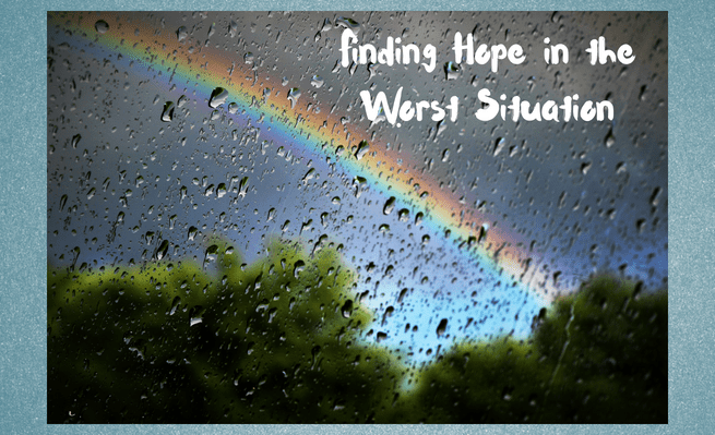 In this post Zachary discusses finding hope during dire times.
