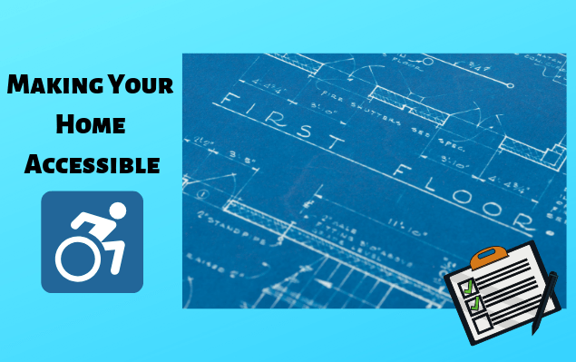 """Get practical tips for making your home accessible courtesy Pneumatic Vacuum Elevators's infographic """"How to Make Your House Handicap Accessible."""""""
