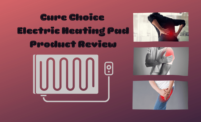 A review for Cure Choice's electric heating pad