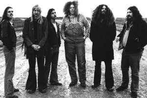 Kansas, circa 1973 (Phil Ehart, Kerry Livgren, Steve Walsh, Rich Williams, Robby Steinhardt, Dave Hope) (photo credit: DON HUNSTEIN)