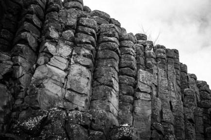 Basalt Formations Alongside the Old Railroad Cuts