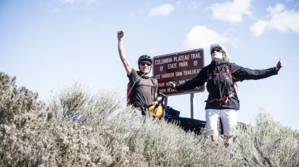 At the End of the Columbia Plateau Trail