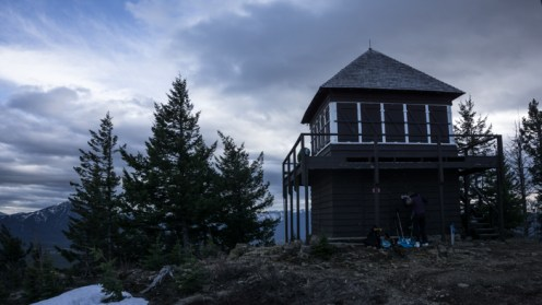 The Southern Destination - the Apgar Lookout