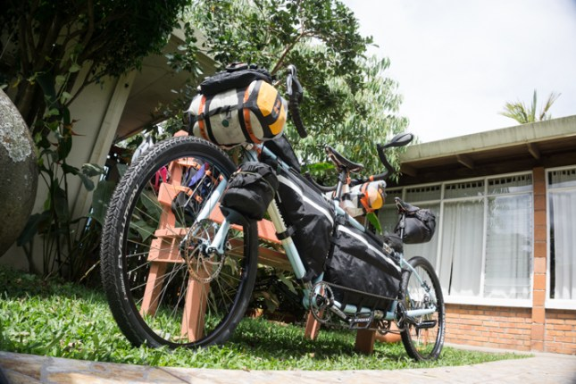 Loaded Up (for the first time in this bike's life)!
