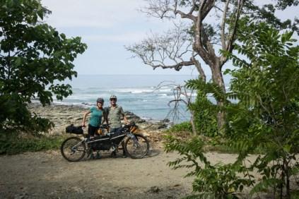 Coastal Dirt Backroad along the Western Coast of the Nicoya Penninsula