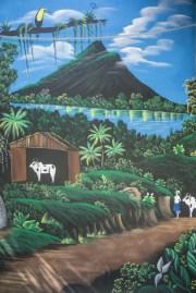 Mural of Laguna de Arenal