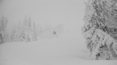 Becca Bringing the Japow to Montucky