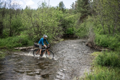 Cross Bikes Can Mob Creeks Too!