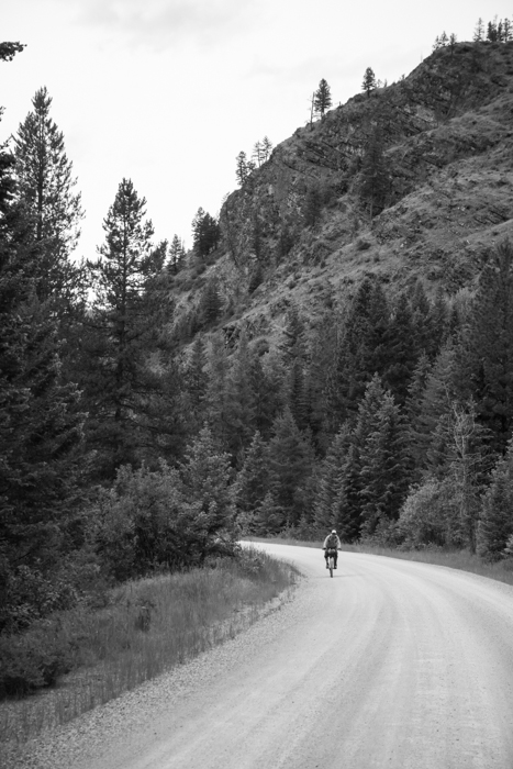Pedaling Along the Final Few Miles of Day 1