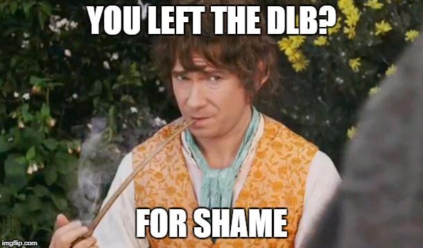 BIlbo Baggins DLB Meme