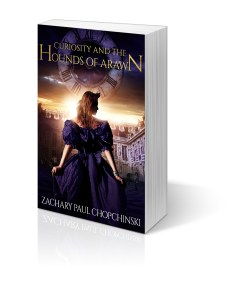 Curiosity and The Hounds of Arawn Book 2 in The Gabrielle Series Signed Copy- $12