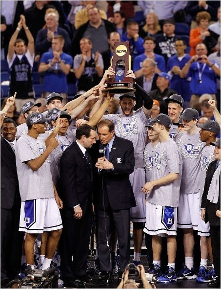 Duke Blue Devils 2010 NCAA Champions! | Photo used for personal, non-commercial reasons