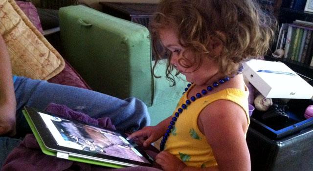 Amanda's iPad