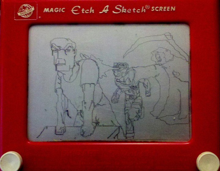 Jason's Etch-A-Sketch