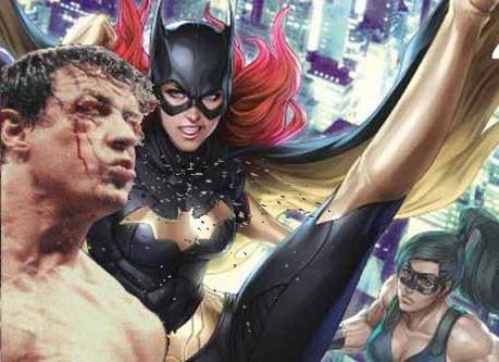 Batgirl vs. Rockey