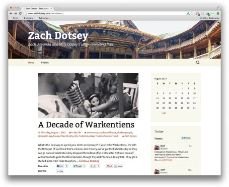 WordPress-Twenty-Thirteen-Theme