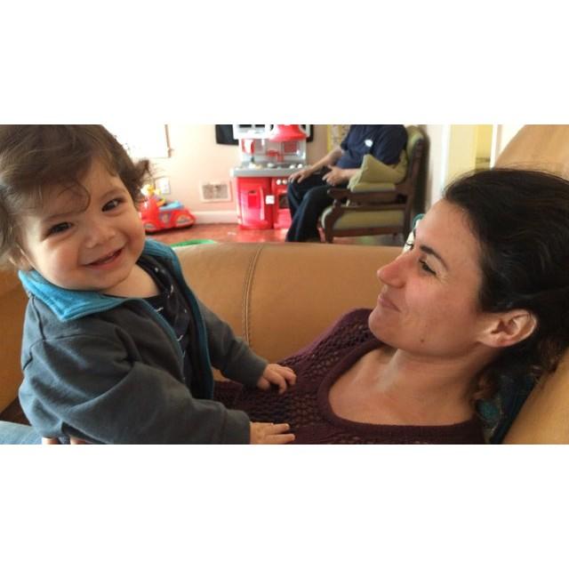 @BashBash_one loves his #AuntieTris. #babylaugh
