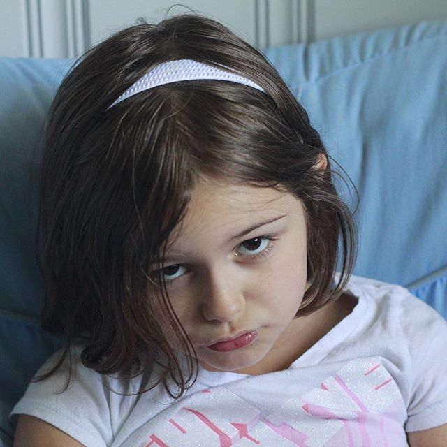 """#Meliamae giving me her """"#Seriously?"""" face."""