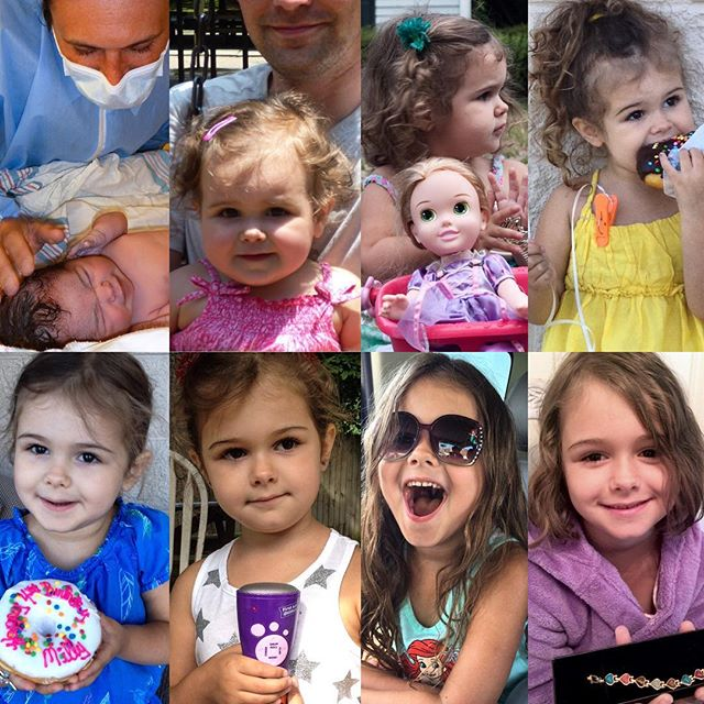 Owning my heart for seven years, eight hours, 28 minutes and counting. I can't believe my baby girl is seven. Time has flown by and she's turning into such a funny, intelligent, beautiful, caring and amazing person. #happybirthday #Meliamae #turning7 #lovemygirl #somethinginmyeye