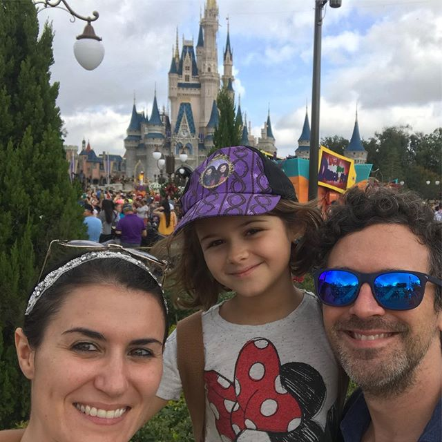 """There was a parade almost as soon as we got in. I told #Meliamae I was pretty sure they said, """"Alright, Milly's here. Let's go ahead and get the parade going."""" #MagicKingdom #DotseyDisneyTrip2016"""
