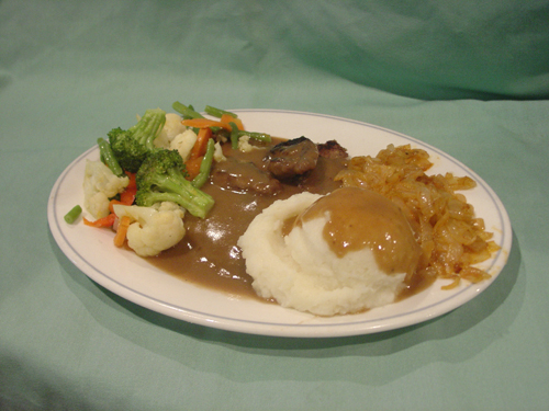 Liver and Onions 1