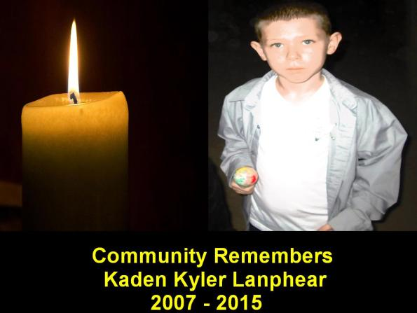 Needles, CA -- Community Remembers Kaden Kyler Lanphear