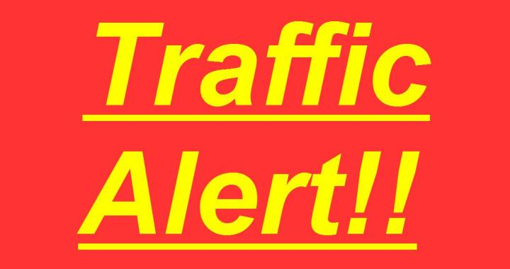 Traffic Alert!!: Downtown Needles, CA: North K Street Underpass will be closed today for Needles High School painting murals.