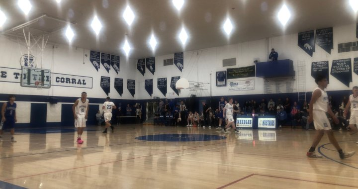 Sports Alert: Needles, CA: Needles Lady Stangs and Mustangs both win against Laughlin during Tuesday's basketball games.
