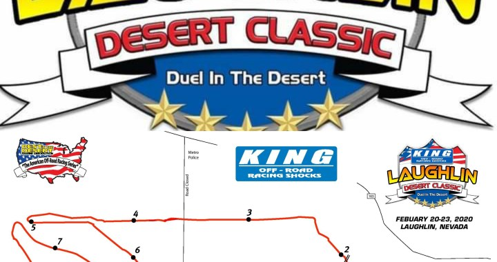 Laughlin, NV: Engines are roaring through the desert for the last day of the 5th Annual King Shocks Laughlin Desert Classic.