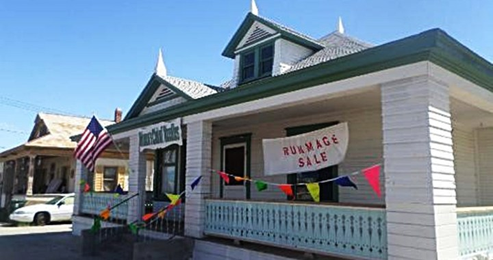 Downtown Needles, CA: Come to the Women's Club of Needles Rummage Sale today and Saturday.
