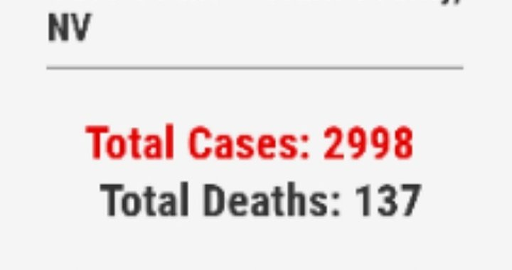 News Update: Clark County, NV: COVID-19 Information; Positive Cases: 2,998 and Deaths: 137.
