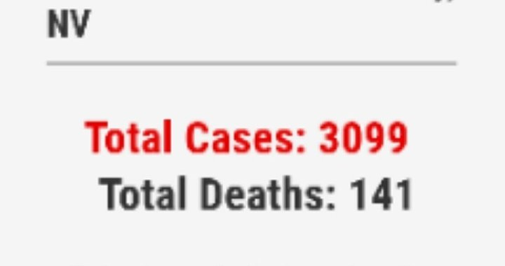 News Update: Clark County, NV: COVID-19 Information; Positive Cases: 3,099 and Deaths: 141.