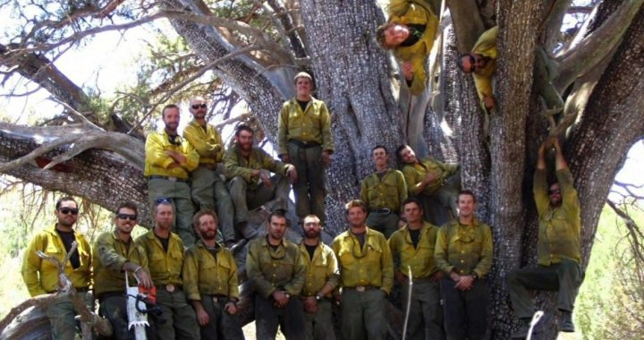 Yarnell, AZ: Remembering the 19 Granite Mountain Hotshots firefighters who died 7 years ago today well battling the Yarnell Hill Fire.