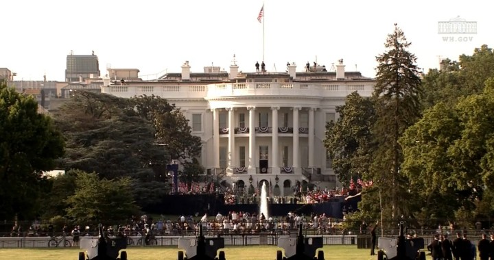 Live News Alert: Washington, DC: Salute to America, Fourth of July at the White House 2020.