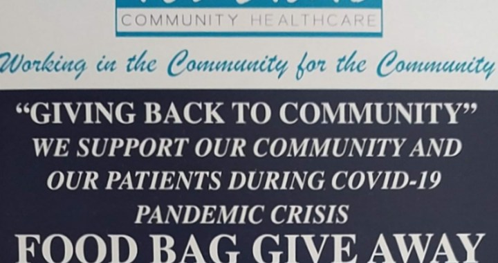 Needles, CA: Tri-State Community Healthcare will be giving away today free food boxes.
