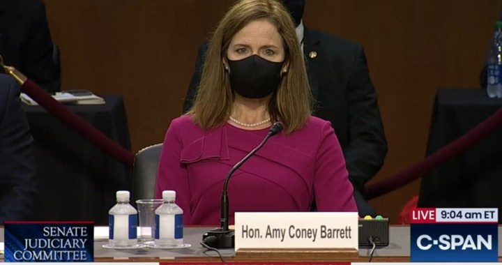 News Alert: Washington, DC: Live Broadcast: Senate Judiciary Committee Confirmation Hearing for United States Supreme Court Nominee Amy Coney Barrett.